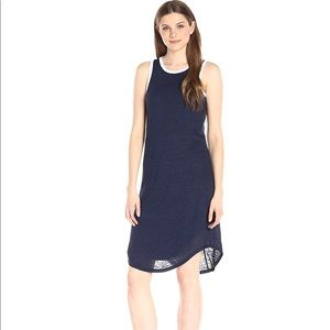 NWT Michael Stars Linen Back Keyhole Dress M